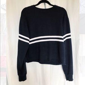 Brandy Melville cropped sweatshirt hoodie